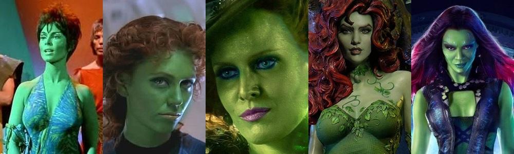 Top 5 Green Beauties in Science Fiction