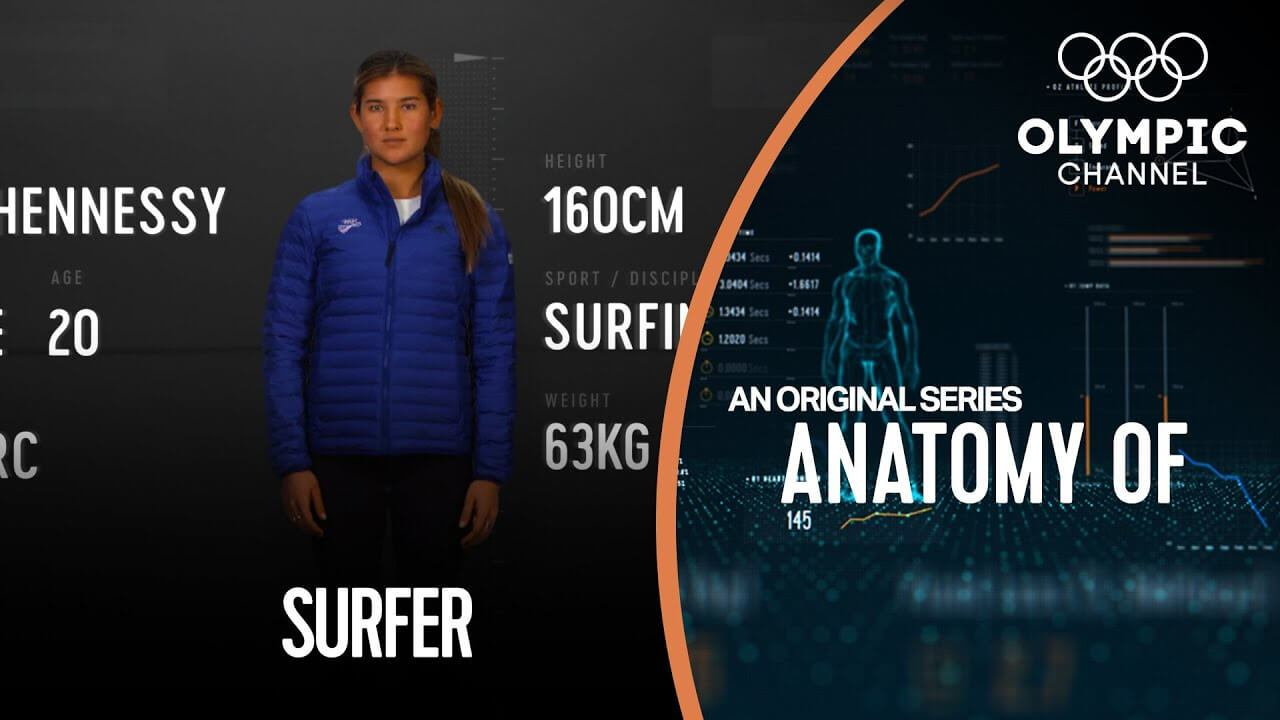 What do you need to become an Olympic surf champion?
