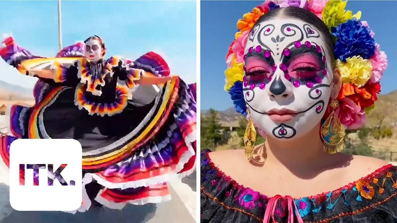 A young Mexican girl keeps an old tradition alive using TikTok